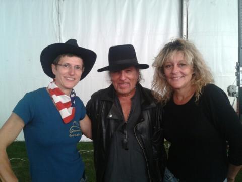 2012-09-23 Le chanteur Danyel GERARD avec Fred et Brigitte