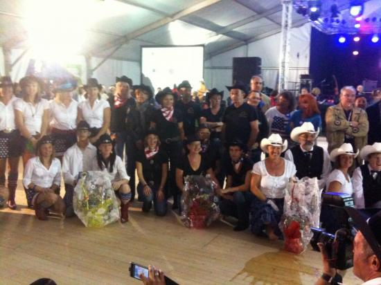 Concours danse country festival Nogent 2012